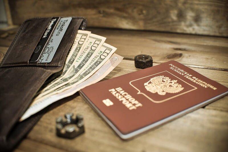 Паспорт кошелек